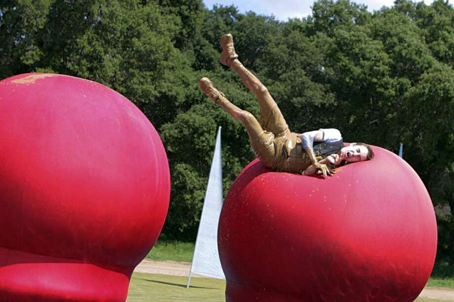 """Is it the Big Balls challenge or the Wheel of Misfortune? You'll have to check out """"Wipeout"""" to see."""