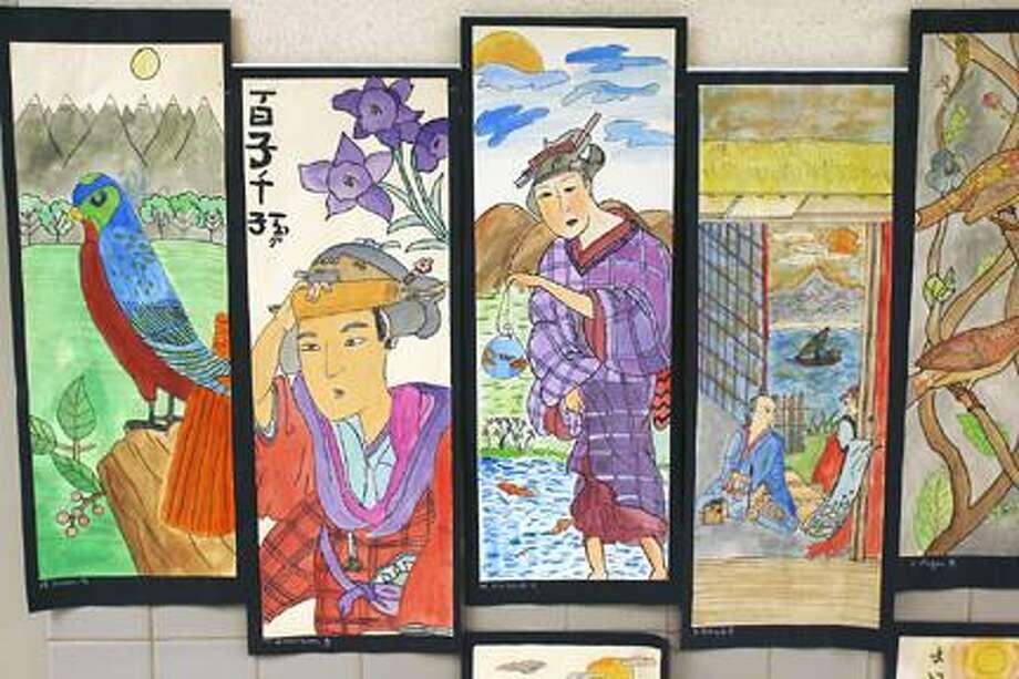 Oneida student artwork on display (video) - New Haven Register