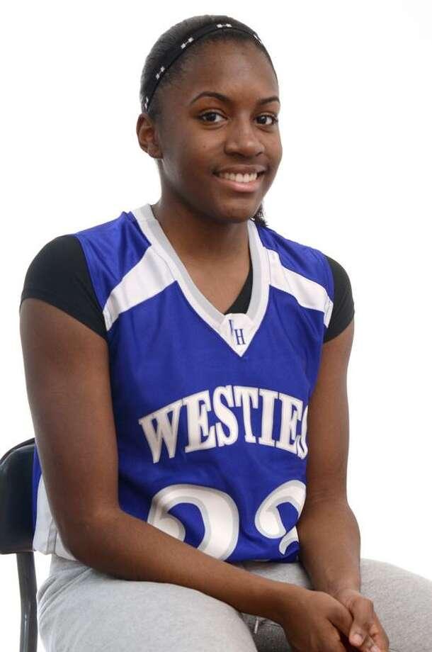 Athlete of the Week Jayva Johnson (VM Williams/Register)