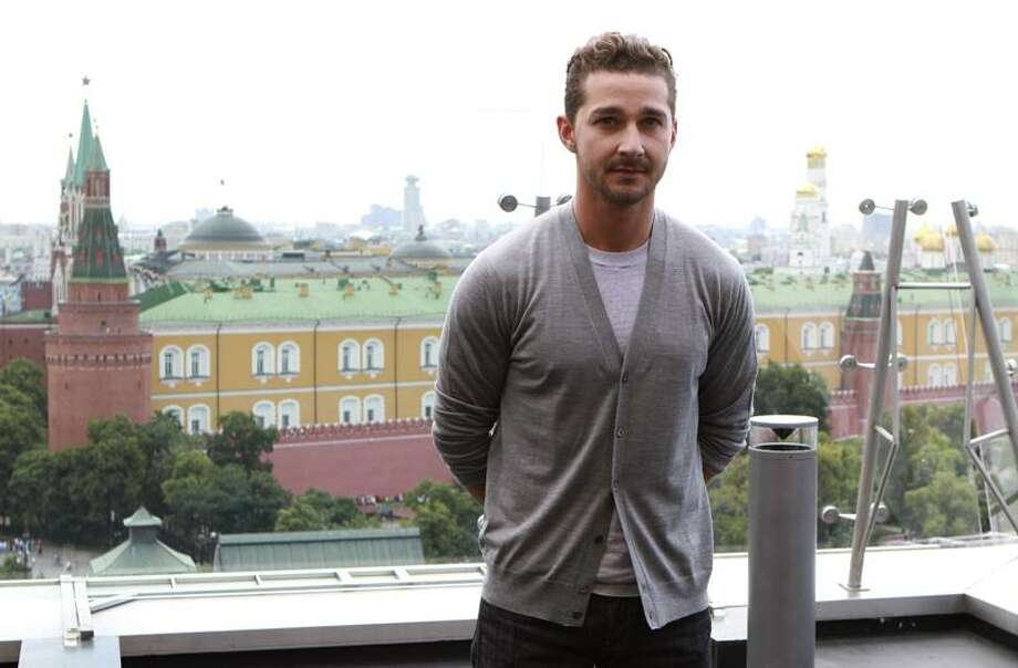 "In this June 23, 2011, file photo, actor Shia LaBeouf poses during a photo call for the world premiere of Hollywood blockbuster ""Transformers: Dark of the Moon,"" in Moscow. (AP Photo/Yury Samolygo) Photo: ASSOCIATED PRESS / AP2011"