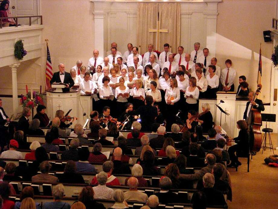 """Contributed photo: Branford """"Messiah"""" singers will raise their voices Sunday night."""