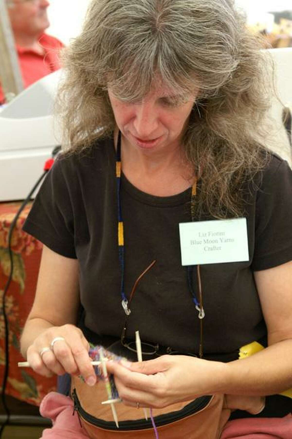 Photo Courtesy Madison County Historical Society Liz Fiorini, of Blue Moon Yarns, in Delanson, N.Y. will be returning to the Madison County Historical Society's 47h Annual Craft Days on Sept. 10 (10 a.m. to 5 p.m.) and Sept. 11 (10 a.m. to 4 p.m.).