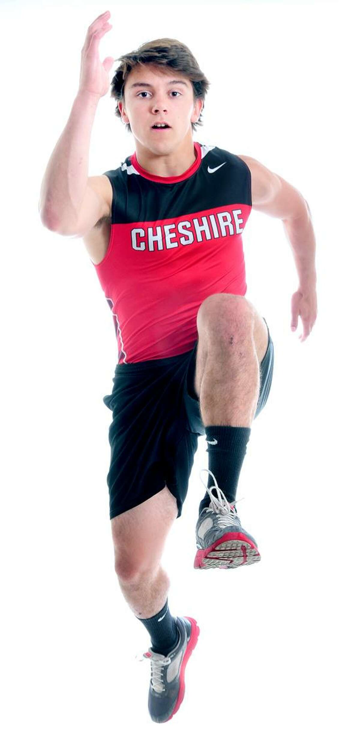 AREA BOYS OUTDOOR TRACK MVP: Jake Scinto, Cheshire. Arnold Gold/New Haven Register