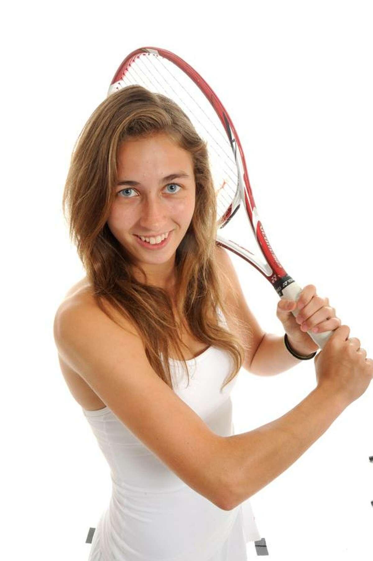 AREA GIRLS TENNIS MVP: Taylor Fay, Hand. VM Williams/Register.
