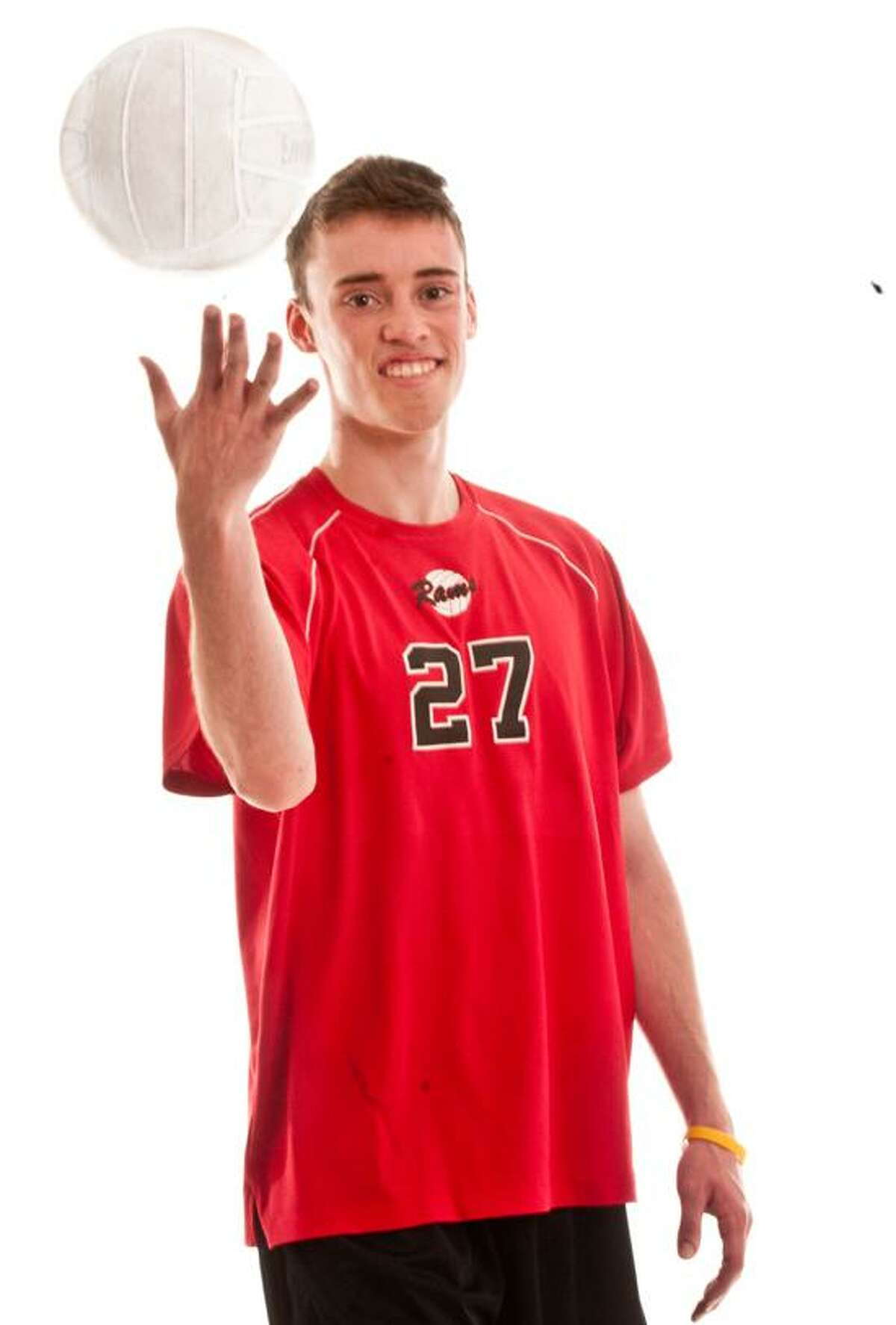 AREA BOYS VOLLEYBALL MVP: Ryan Cuppernull, Cheshire. Melanie Stengel/Register.