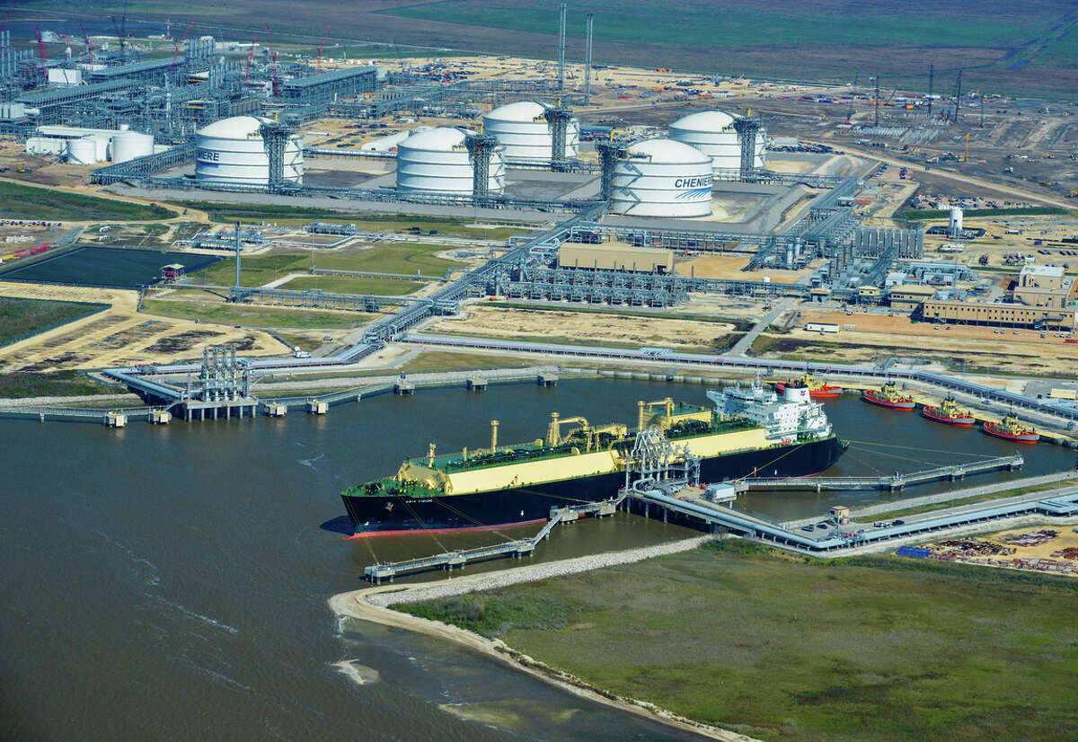The liquefied natural gas tanker Asia Vision left Cheniere Energy's Sabine Pass export terminal in Louisiana early last year with the first cargo of U.S. shale gas. Manufacturers want to slow the development of U.S. natural gas export facilities.