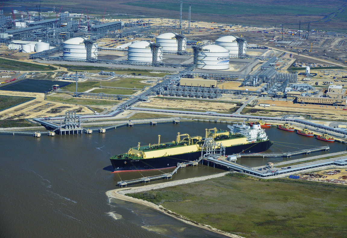 Lng Liquefied Natural Gas Houston