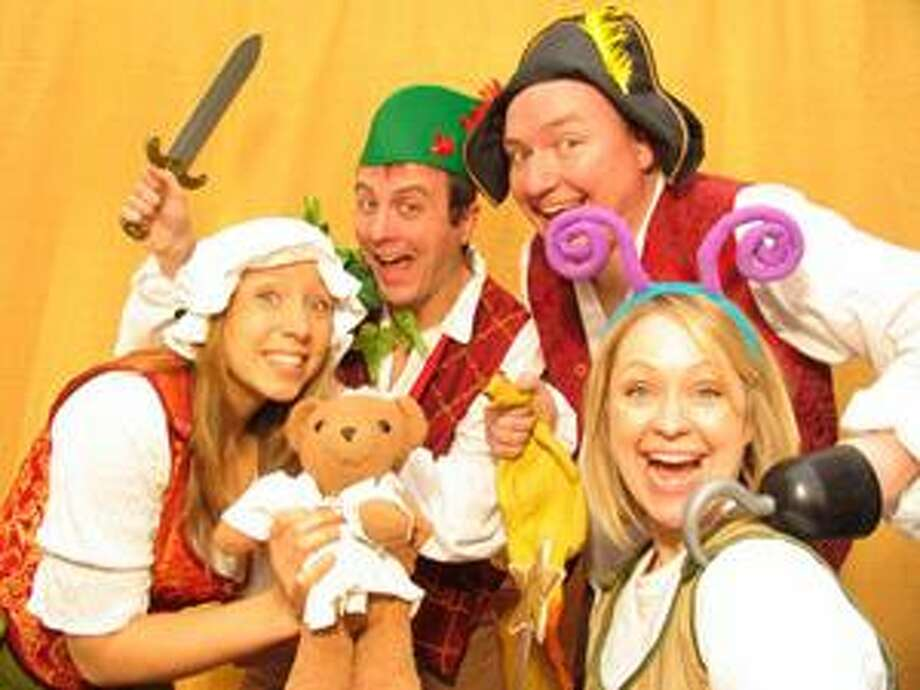 "The Dufflebag Theatre will perform ""Peter Pan"" at the Munson-Williams-Proctor Arts Institute's Museum of Art auditorium Saturday at 11 a.m. and 1 p.m."