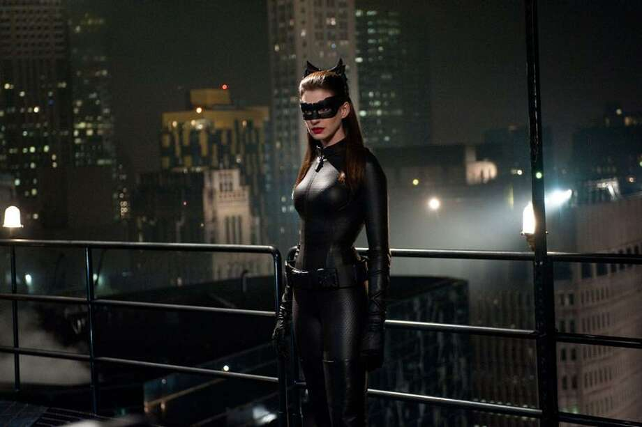 Warner Bros. Pictures/Ron Phillips photo: Anne Hathaway joins the list of legendary Catwomen. / © 2012 WARNER BROS. ENTERTAINMENT INC. AND LEGENDARY PICTURES FUNDING, LLC