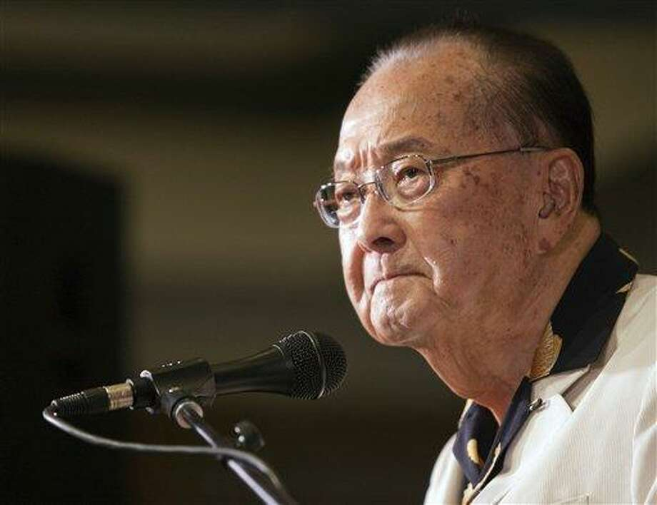 U.S. Sen. Daniel Inouye. Associated Press file photo Photo: AP / FR132415 AP