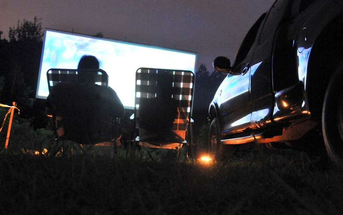 The Southington Drive-In has has reopened and packs in movie-goers. Photo by Brad Horrigan/Register