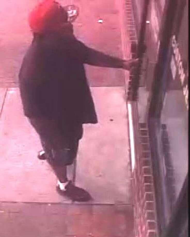 Surveillance photo of suspect, from East Haven police.