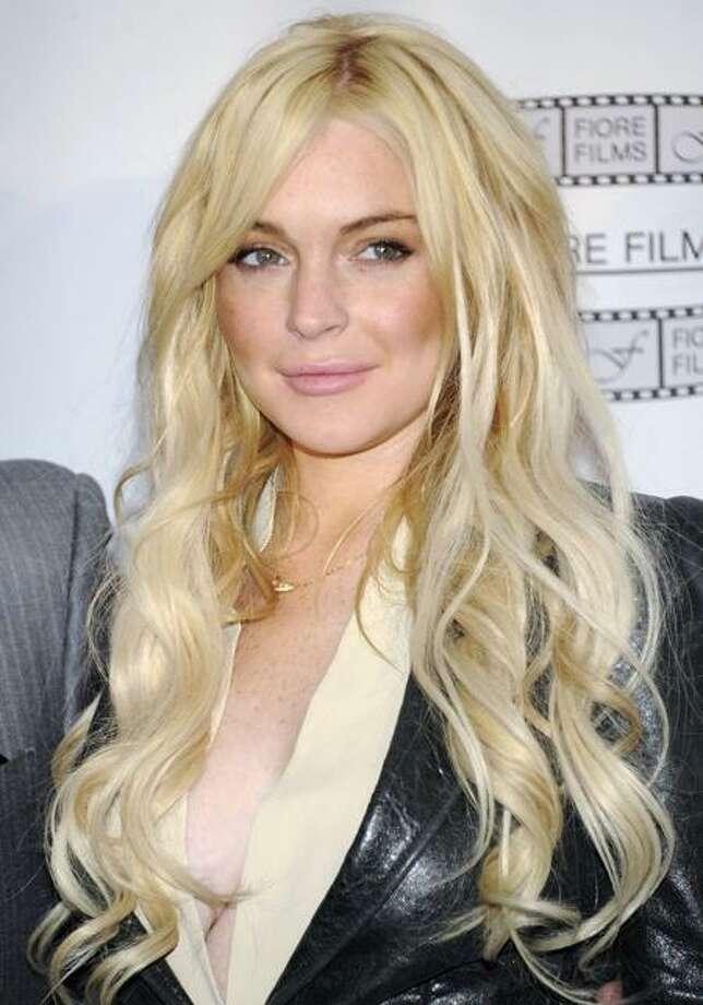 Lindsay Lohan Photo: AP / AP2011