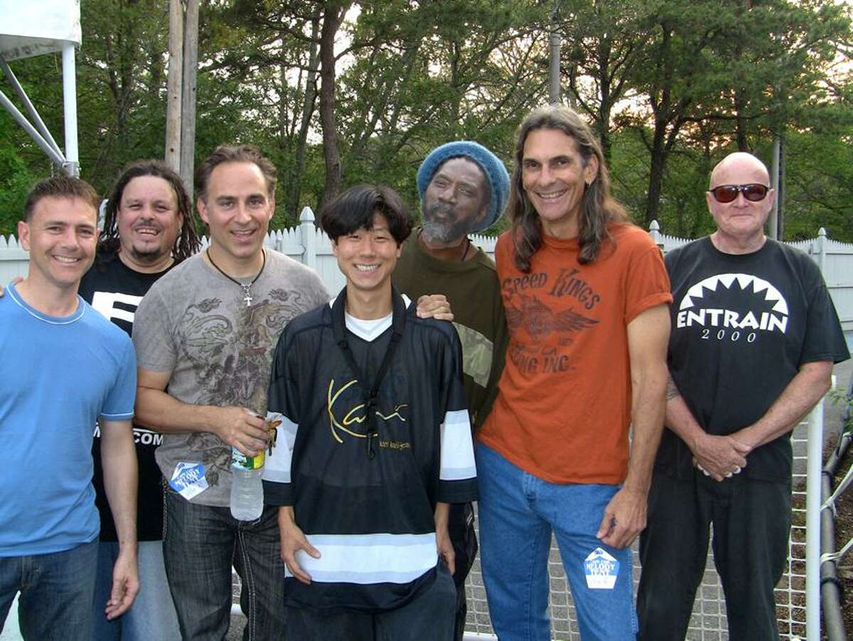 Contributed photo: Entrain, will play an all-ages show at 8 tonight at Playhouse on Park in West Hartford. The audience will be invited to participate in a drum circle at the close of the show. Tickets are $25.