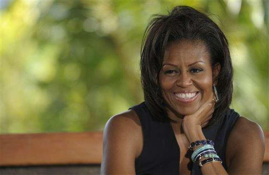 Michelle Obama. Associated Press file photo Photo: AP / AP2011