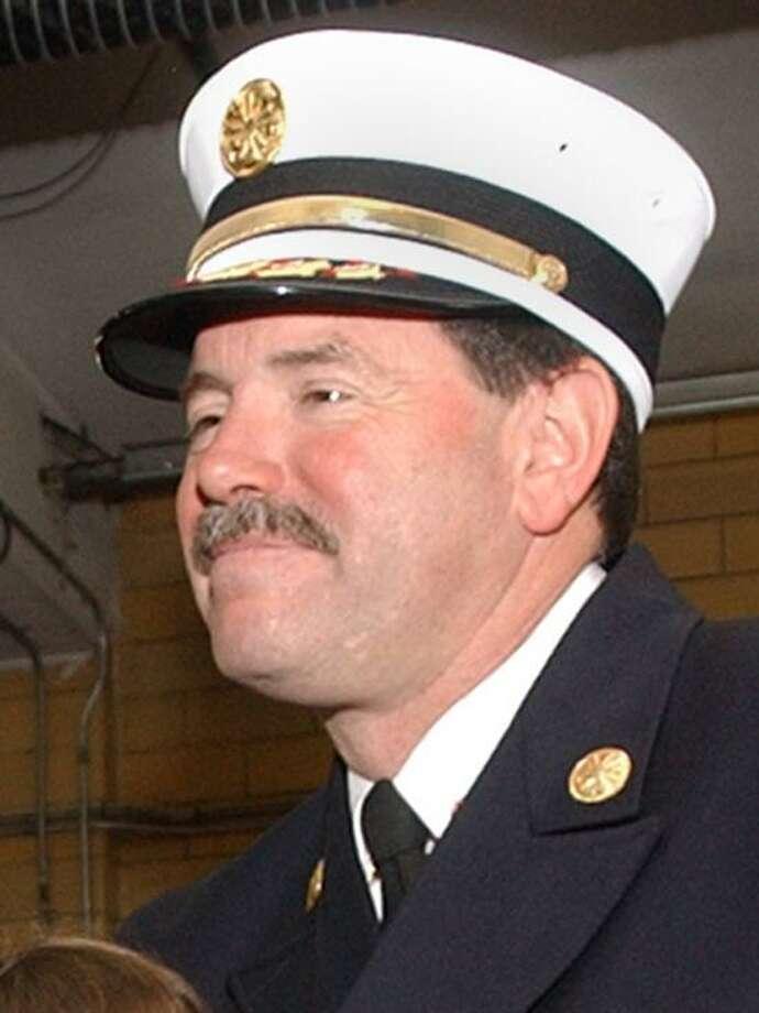 East Haven Fire Department Chief Douglas Jackson. Photo by Jeff Holt