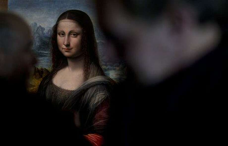 A copy of Leonardo da Vinci's Mona Lisa that was painted at the same time and in the same studio as the original is displayed at the Prado Museum in Madrid.  Associated Press Photo: AP / AP