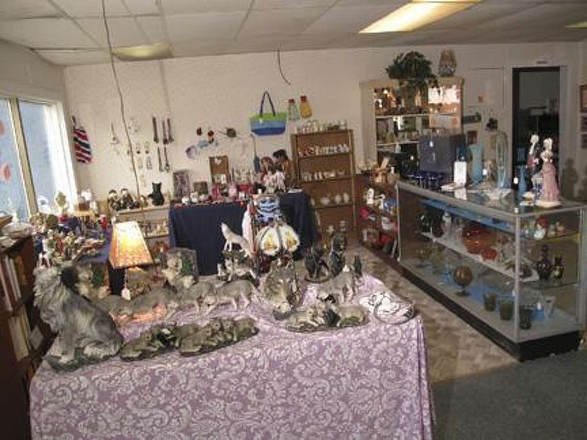 Dispatch Staff Photo by JOHN HAEGERTreasure Seekers features a wide variety of antiques, collectibles and handmade items.