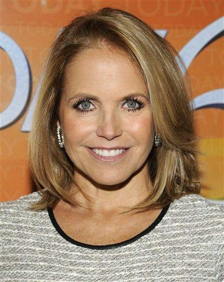 """In this January photo, former """"Today"""" show host Katie Couric attends the """"Today"""" show 60th anniversary celebration at the Edison Ballroom in New York. ABC announced Thursday that the former """"Today"""" show anchor will be guest-hosting """"Good Morning America."""" Beginning Monday, Couric will sub for the vacationing Robin Roberts. She will appear for the week alongside Roberts' regular co-host, George Stephanopoulos.  Asdsociated Press Photo: AP / AP2012"""