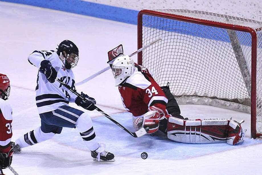 Yale's Broc Little has signed a deal to play professionaly in Sweden. (Peter Casolino/Register file photo)