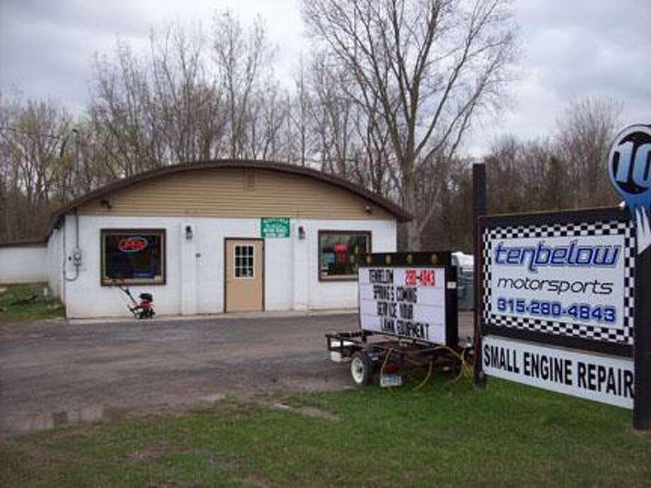 Photo Special to the Dispatch by MIKE JAQUAYS  Tenbelow Outdoor Power in Wampsville offers a blend of high technology and experienced personnel. The shop is located at 2217 Genesee St. (Route 5).