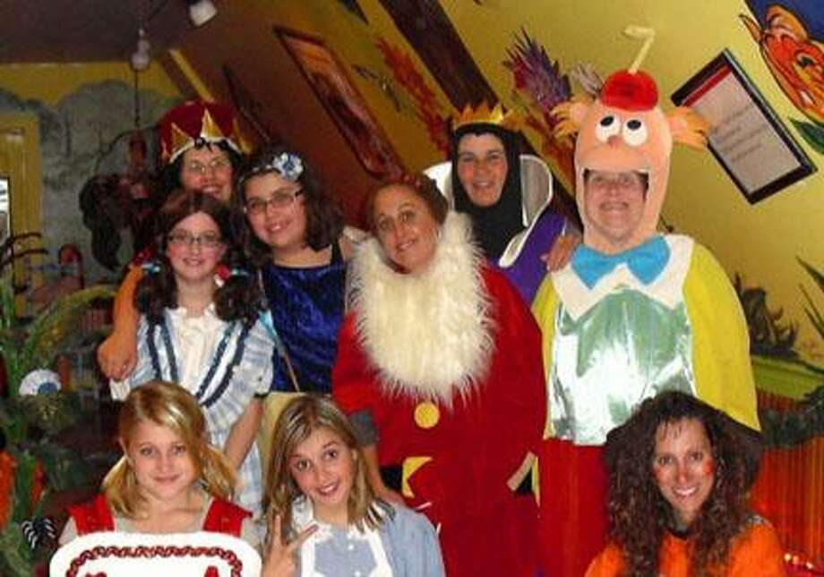 Submitted Photo Many well-known fairy tale characters will distribute candy to children at the Rome Art And Community Center's Bunny Trail today, beginning at 12 p.m.