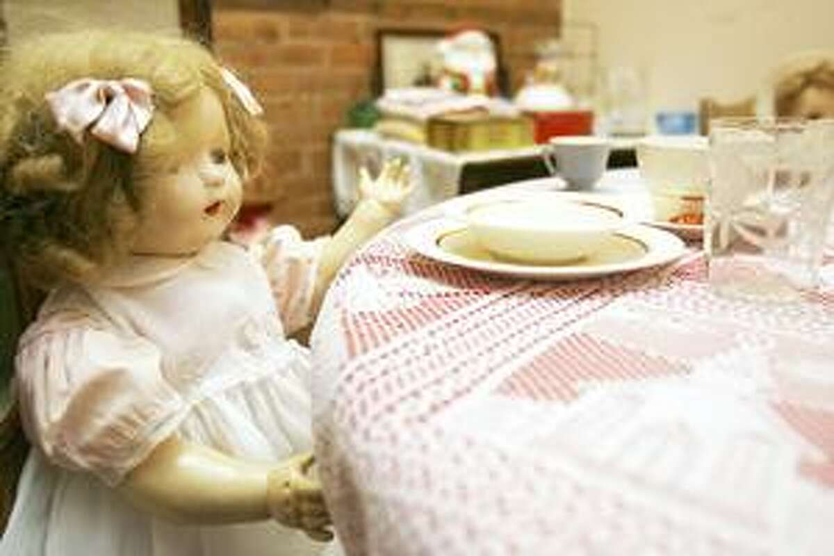 Photo by JOHN HAEGER Canastota Doll Museum on Friday, April 22, 2011.