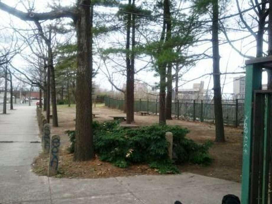 Union Street Park, where neighbors want to build a dog park.