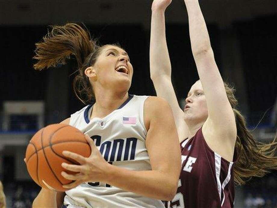 UConn's Stefanie Dolson. (AP Photo/Jessica Hill) Photo: ASSOCIATED PRESS / A2012