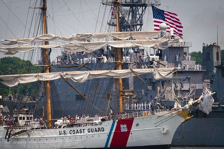 OpSail 2012 Tall Ships arrive at New London. Photos by Melanie Stengel