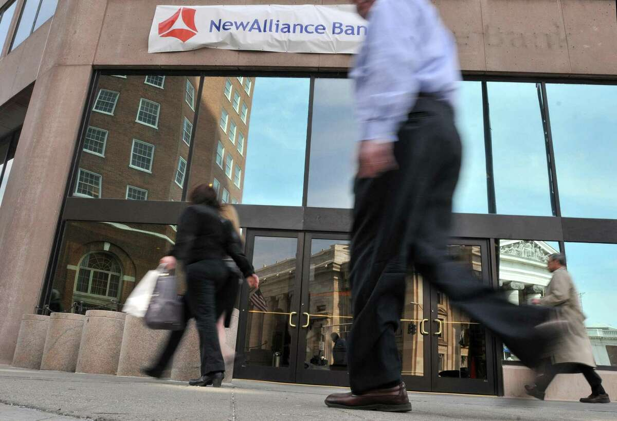 NewAlliance was officially acquired by First Niagara Friday. Photo by Brad Horrigan/New Haven Register.