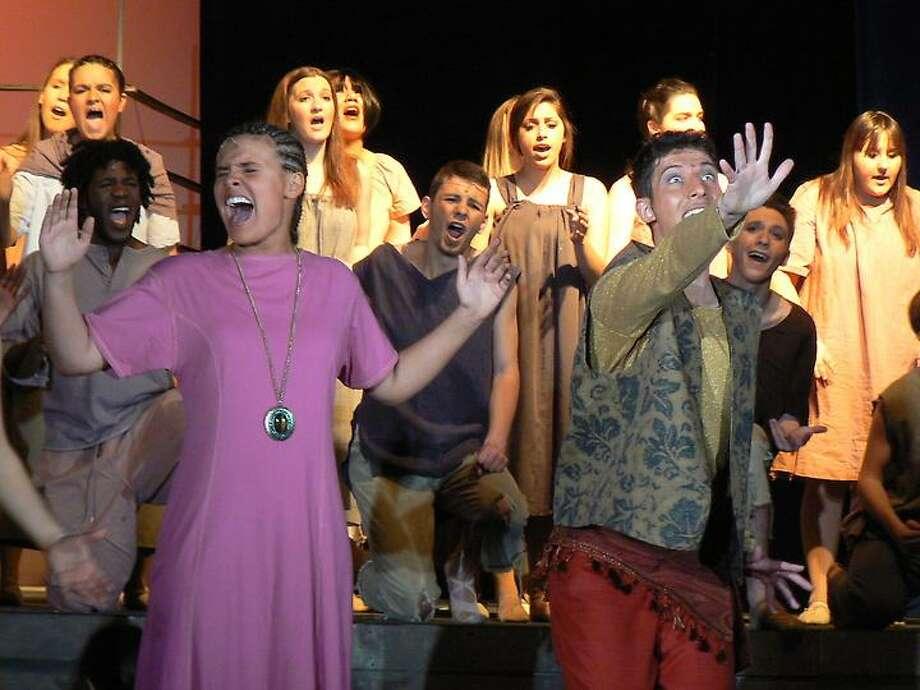"""""""Aida"""" at Branford High School (Courtesy Branford High School Performing Arts)"""