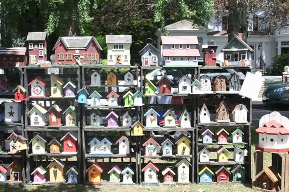 Contributed photo: You might find some creative lodging for the backyard birds, or a unique piece of art.