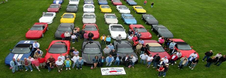 Contributed photo: Club Corvette of Connecticut members host the show.