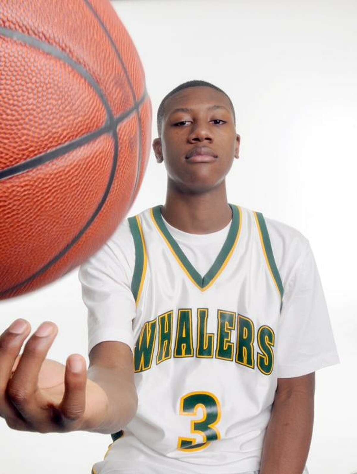 New London's Kris Dunn is the 2011-12 Gatorade State Player of the Year for boys' baasketball.