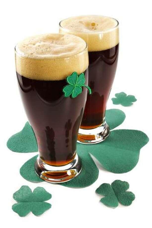 Dark Irish beer for St Patick's Day Photo: Getty Images/iStockphoto / iStockphoto