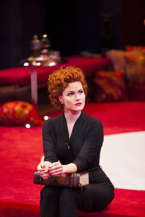 "T. Charles Erickson: Kate MacCluggage is a purr-fect Gillian in ""Bell, Book & Candle"" at Long Wharf Theatre."