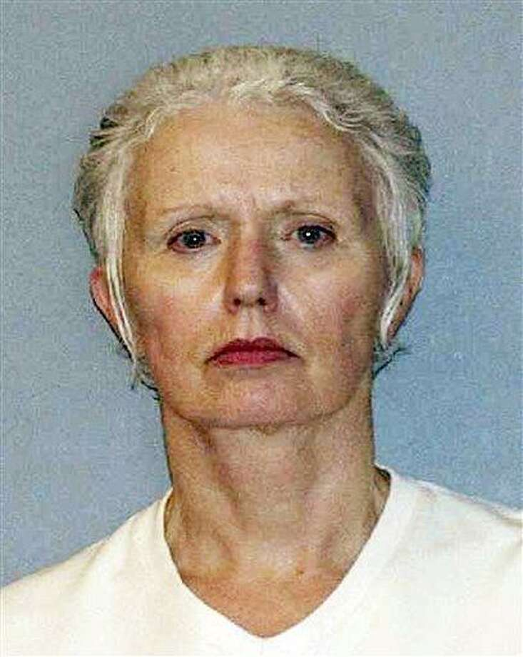 "This undated file photo provided by the U.S. Marshals Service shows Catherine Greig, longtime girlfriend of Whitey Bulger. The brother of one of Bulger's alleged murder victims says that Bulger's girlfriend is a ""monster.""  Associated Press Photo: ASSOCIATED PRESS / AP2011"