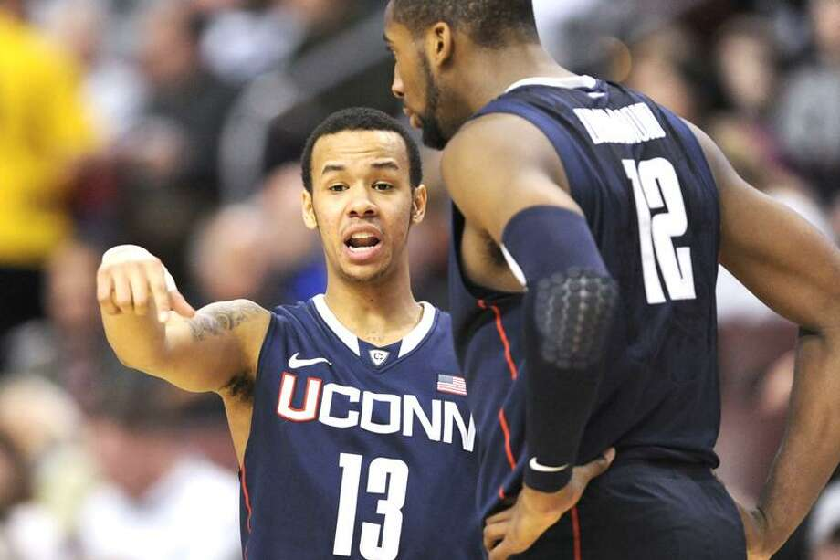 UConn's Shabazz Napier (13) and Andre Drummond (12). Howard Smith-US PRESSWIRE Photo: US PRESSWIRE / (2012) Howard Smith