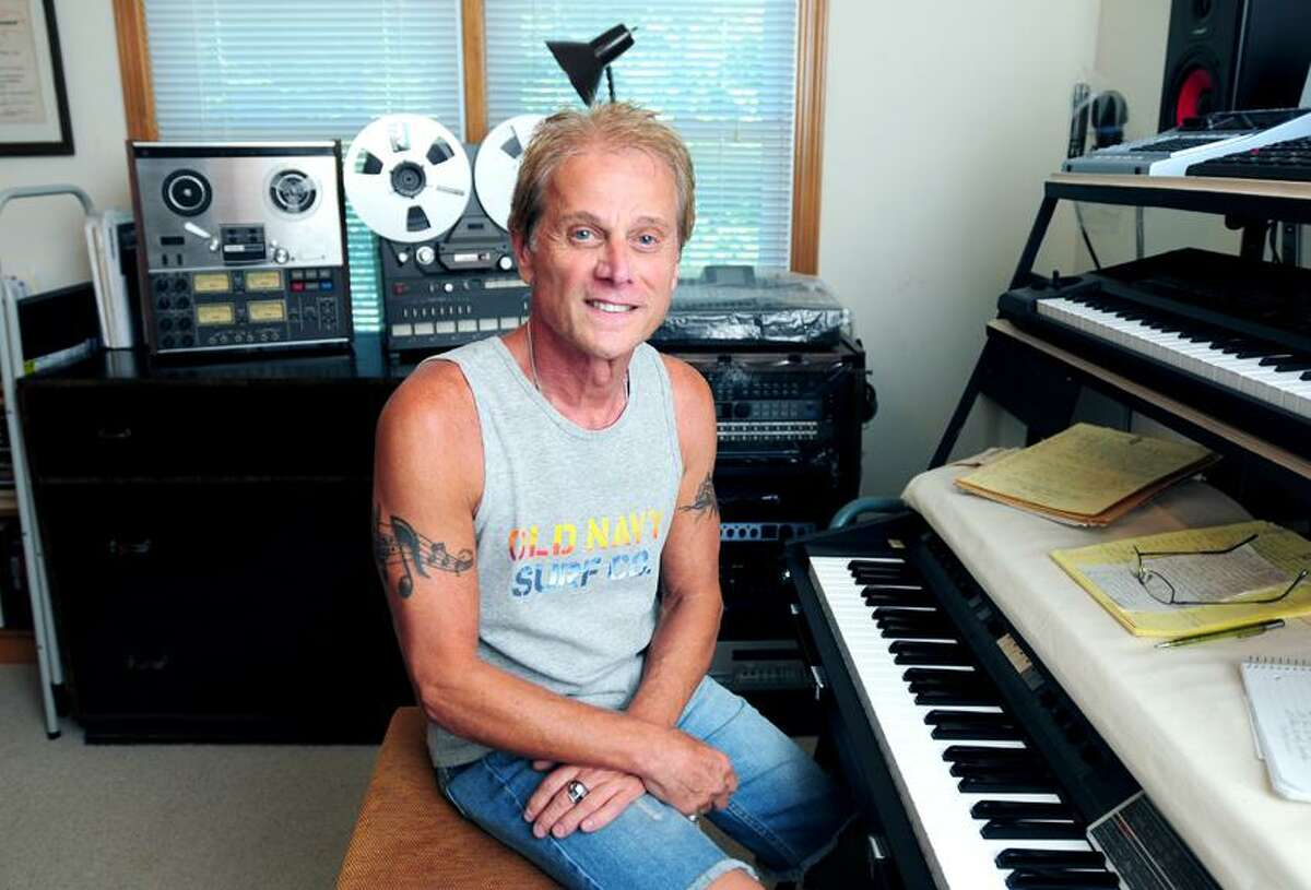 Arnold Gold/Register photo: Gary DeCarlo of Shelton was one of the writers and performers of