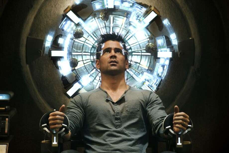 "Columbia Pictures photo: Colin Farrell didn't have to stretch his acting muscles in ""Total Recall"" remake. Photo: AP / Columbia Pictures Industries2011"