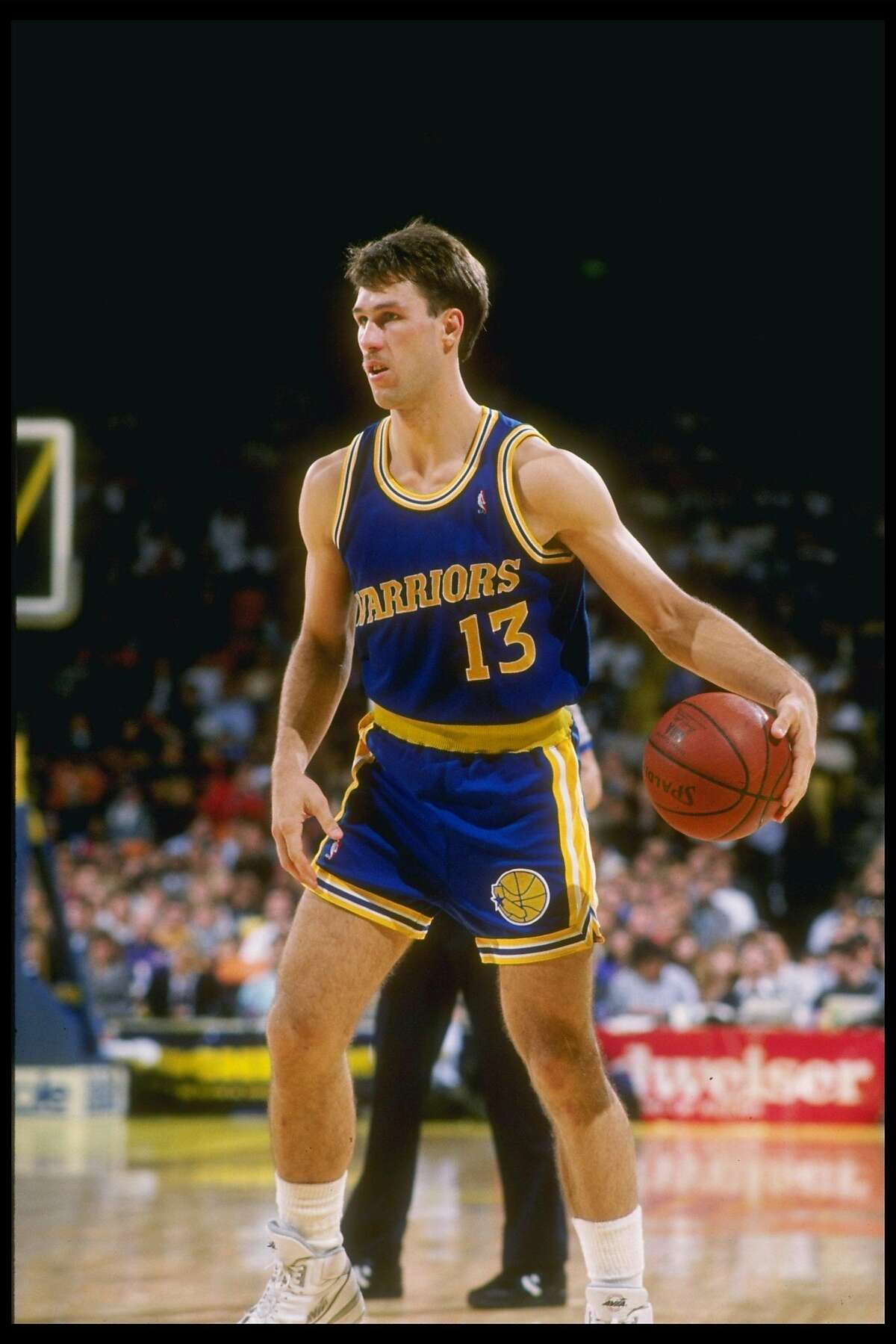 Hall-of-Famer Sarunas Marciulionis played four seasons with the Warriors.