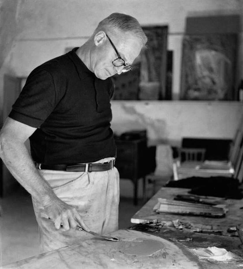 "Copyright Elio Ciol, Casarsa photo: Life magazine called the late William Congdon (1912-1998) ""a remarkable new U.S. painter"" in the '50s."