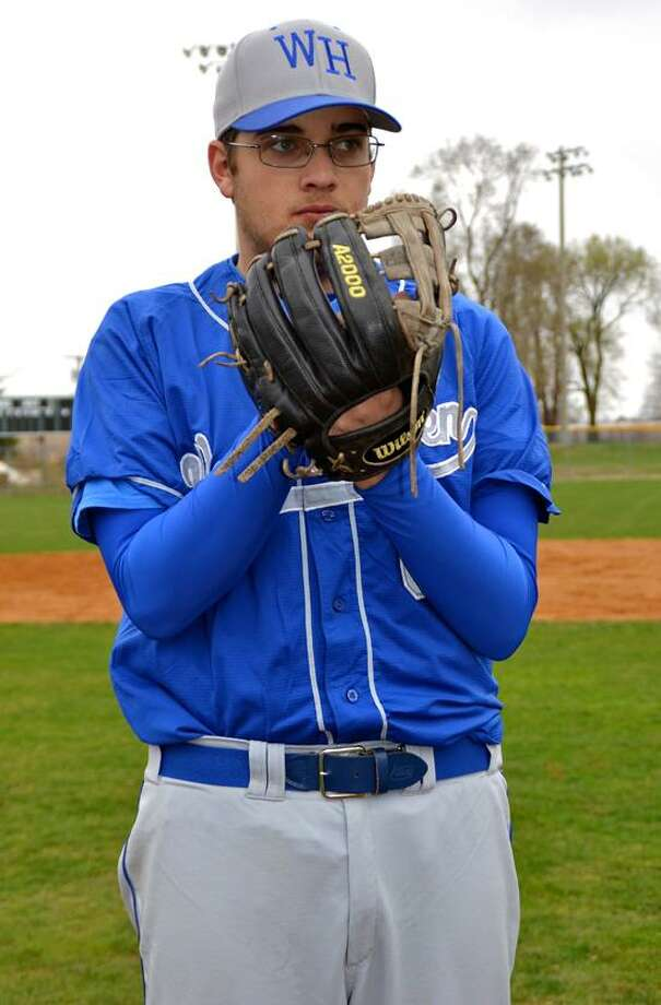 Pitcher John Carrano hibes to be a big factor for the West Haven baseball team this season. Photo by Sean Meenaghan/Register