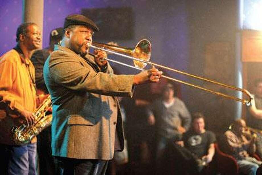 "Wendell Pierce plays fictional jazz trombonist Antoine Batiste in HBO's ""Treme."" (Paul Schiraldi)"