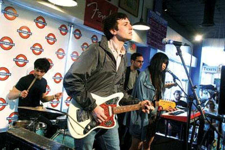 New York's Pains of Being Pure at Heart was, indisputably, the biggest buzz band of 2009. The group ended up on dozens of best-of-the-year lists, including the Register's. TPOBPAH returns to the area Thursday for a show at Daniel Street in Milford.  (Associated Press)