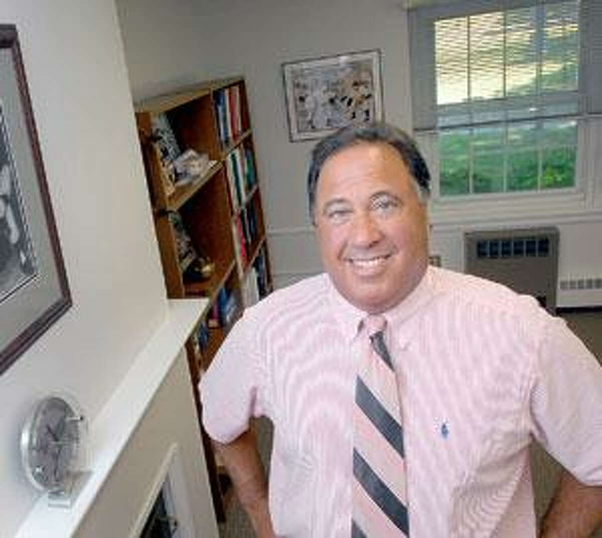 MIlford Superintendent of Schools Harvey B. Polansky.