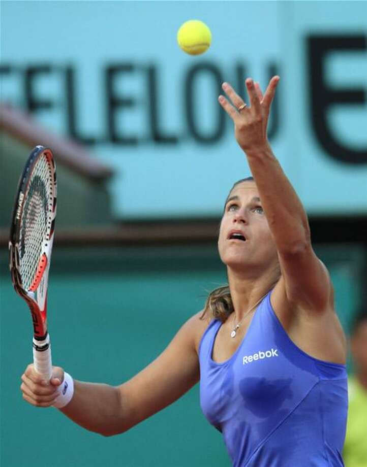Amelie Mauresmo committed to the Pilot Pen Tennis Tournament Monday.