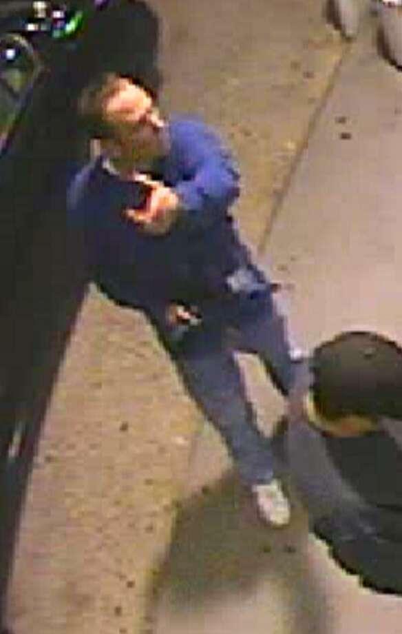 Surveillance photo of suspect.