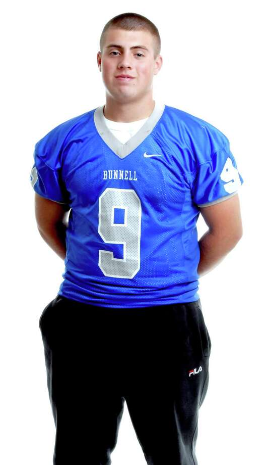 Bunnell football quarterback Bryan Castelot is the Register's Male Athlete of the Week. (Arnold Gold/Register)